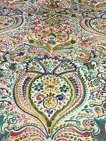 Lee Jofa Upholstery Fabric Costes Italian Paisley Print 2.4 yds QU