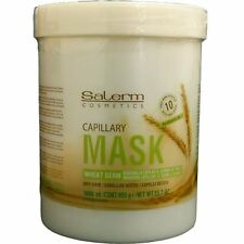 Salerm Wheat Germ Capillary Mascarilla Capillar Hair Mask 1000ml/33.7oz Unisex