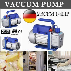 2.5CFM Pompe à vide Mono-étage 1440RPM 1/4HP Manifold Et Flexibles Climatisation