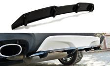 BODY KIT LAMA  CENTRALE SOTTO PARAURTI POSTERIORE CON BARRE BMW X4 M-PACK