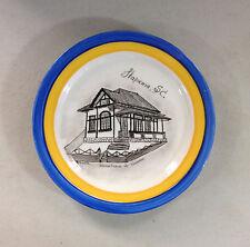 Vintage ITAPEMA SC Brazil Porcelain Souvenir Plate Secretaria de Turismo