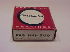 Consolidated / FAG NKI-15/20 Bearing  **New in Factory Box **