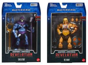 He-Man & Skeletor Masters of the Uinverse Masterverse Set (2X MOTU Figures)