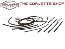 C3 Corvette Headlight Wiper Vacuum Hose & T Kit 1973-1979 0114