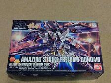 1/144 Gundam Build Fighters HGBF #053 Amazing Strike Freedom Gundam Model Kit