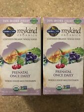 Garden Of Life Mykind Organics Prenatal Once Daily 216 Tablets Exp 04/2023