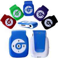 Mini Metal Clip USB MP3 Support 8GB/16G/32GB Micro SD TF Card Music Media Player