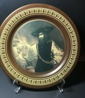 Aristotle Contemplating the Bust of Homer Plate, By Rembrandt Ohio Art, Vintage
