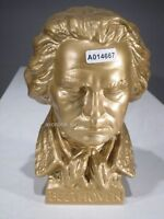 +#A014667, Goebel  Archiv Muster, Ludwig van Beethoven Büste gold