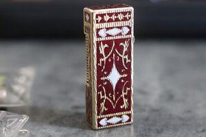 Vintage Lighter Sterling RoyKing Design Gold Plated