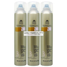 """KeraCare Oil Sheen with Humidity Block 10 Oz """"Pack of 3"""" with Free Nail File"""