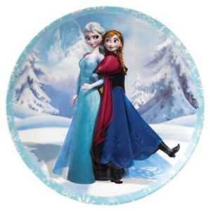 Disney Enchanting Collection Wall Plate Sisterly Bond From Frozen Elsa And Anna