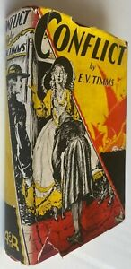 1939 CONFLICT by E V TIMMS, FREE EXPRESS AUSTRALIA WIDE