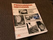 Percussion Methods: An Essential Resource for Educators Conductors HL00144941