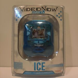 NEW VideoNow Color FX Ice Blue PVD Tiger Electronics Personal Video Player