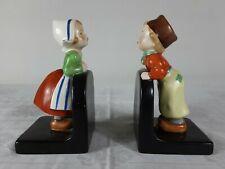 1 Paar Buchstützen der Firma Goebel. Holländische Kinder. ca. 17cm hoch