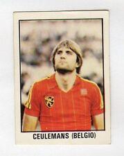 figurina CALCIO FLASH 1982 NUMERO 202 BELGIO CEULEMANS