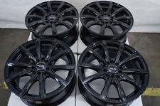 "16"" Wheels Honda Civic Accord Cr-V Galant Camry Corolla Rav-4 Black Rims 5 Lugs"