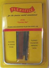 Flex-I-File 123 Detail Starter Combo Sanding Set Hobbby Craft NEW