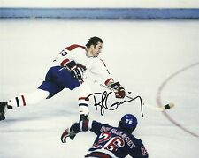 Bob Gainey Hand Signed 8x10 Photo Montreal Canadiens