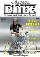 Classic BMX Magazine No6 Old School Hutch Mongoose Skyway Redline Haro GT Fiola