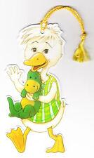 Lesezeichen arsEdition - niedliche Ente mit Drachen