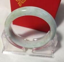 Cetified A grade green jadeite jade bracelet/bangle, Gemstone bangle Dia 58.5mm