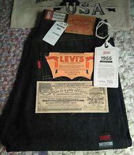 Levi's 501 XX  Vintage Clothing 1955 LVC  Cone Denim.Dark Blue Rigid W30 L34.USA