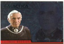 Complete Battlestar Galactica Colonial Warriors Chase Card CW1
