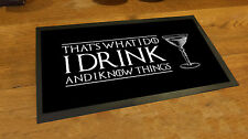 Tyrion lannister Game of Thrones Inspired quote runner pubs clubs & cocktail bar