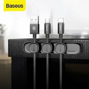 Baseus Magnetic Kabelmanager Kabelclip Kabelhalter Desktop Kabel Organizer
