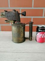 Blowtorch Sievert Sweden model G6 Torch Sandpiper Burner Copper Antique Vintage