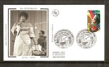 France 2002 SG3842 Yvert 3503 FDC (Paris) Jazz Musicians-Ella Fitzgerald 1918-96