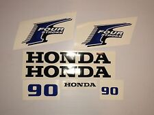 Honda 90hp 4-Stroke Outboard Decal Kit - USA free fast shipping fourstroke