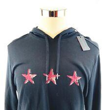 John Varvatos Cotton Jersey Lightweight Graphic Hoodie Sweatshirt Men Medium NWT