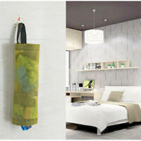 Home Grocery Bag Holder Wall Mount Storage Dispenser Plastic Receive Bag