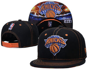New York Knicks Snapback Hat Baseball Cap NBA Basketball Sport Hat