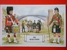 MILITARY POSTCARD -THE HIGHLANDERS BY DOUGLAS ANDERSON
