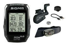 Sigma ROX 11.0 GPS Wireless Bike Computer with ANT+ Speed, Cadence, HRM - Black