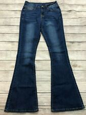 NWOT High Waisted Rise Flare Jeans Womens Size Medium 26 Stretch NEW D14