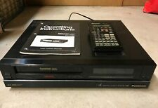 New listing Panasonic Pv-4780 HiFi Vhs Vcr for parts/repair not working
