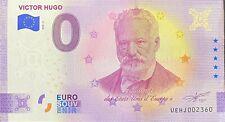 BILLET ZERO EURO VICTOR HUGO ANNIVERSARY 2020-2
