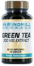 Windmill Green Tea Extract 300 mg Caplets 60 ea