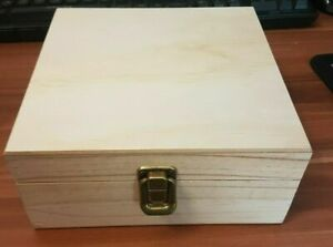 Hand Made Wooden Chest/Box