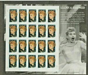 LUCILLE BALL, 2000 USPS Legends of Hollywood Sheet of Twenty 34 cent Stamps, MNH