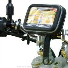 IPX4 Waterproof Motorcycle Bike Locking Strap SatNav GPS Handlebar Mount Holder