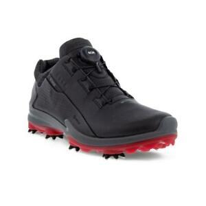 Ecco Golf Biom G3 GORE-TEX BOA Men's Golf Shoes (Black UK 8-8.5/EU 42)