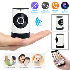 WIFI Wireless HD CCTV IP Camera Webcam Night Vision Fish Eye Cam Security System