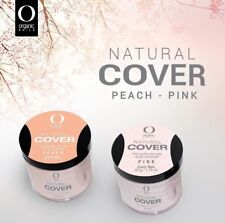 organic nails acrylic Covers Peach & pink  2 oz   (free 2 decorations)