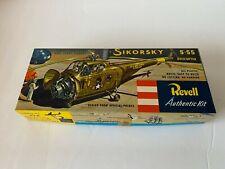 Vintage 1955 Revell Model Kit; Sikorsky S 55 Helicopter; Kit# H214:89 Unbuilt